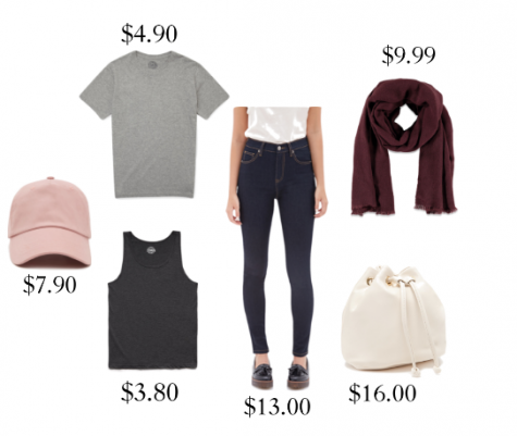 The Forever 21 basics section offers simple, everyday items at a low price.