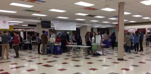 Students from both Central and neighboring schools attended the international college fair on Nov. 14.