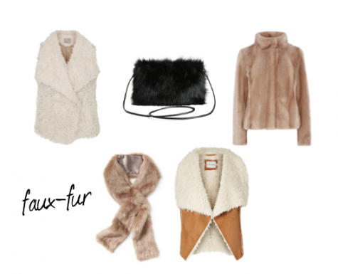 The addition of faux-fur provides a stylish texture and extra warmth.