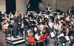 Concert bands perform with Butler Junior High School at Winter Concert