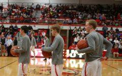 Boys' Basketball beats Lyons Township