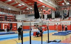 Boys' gymnastics wins first meet