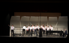 Choir performs at spring concert