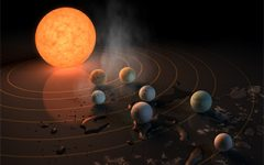 Students react to NASA's recent discovery of an exoplanet system