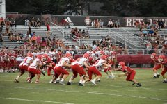Boys' football hosts annual Red-White Scrimmage