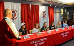 Seniors sign letters of commitment
