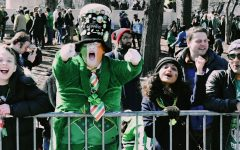 Students head downtown for St. Patrick's Day