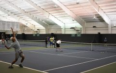 Boys varsity tennis team introduces star freshmen players